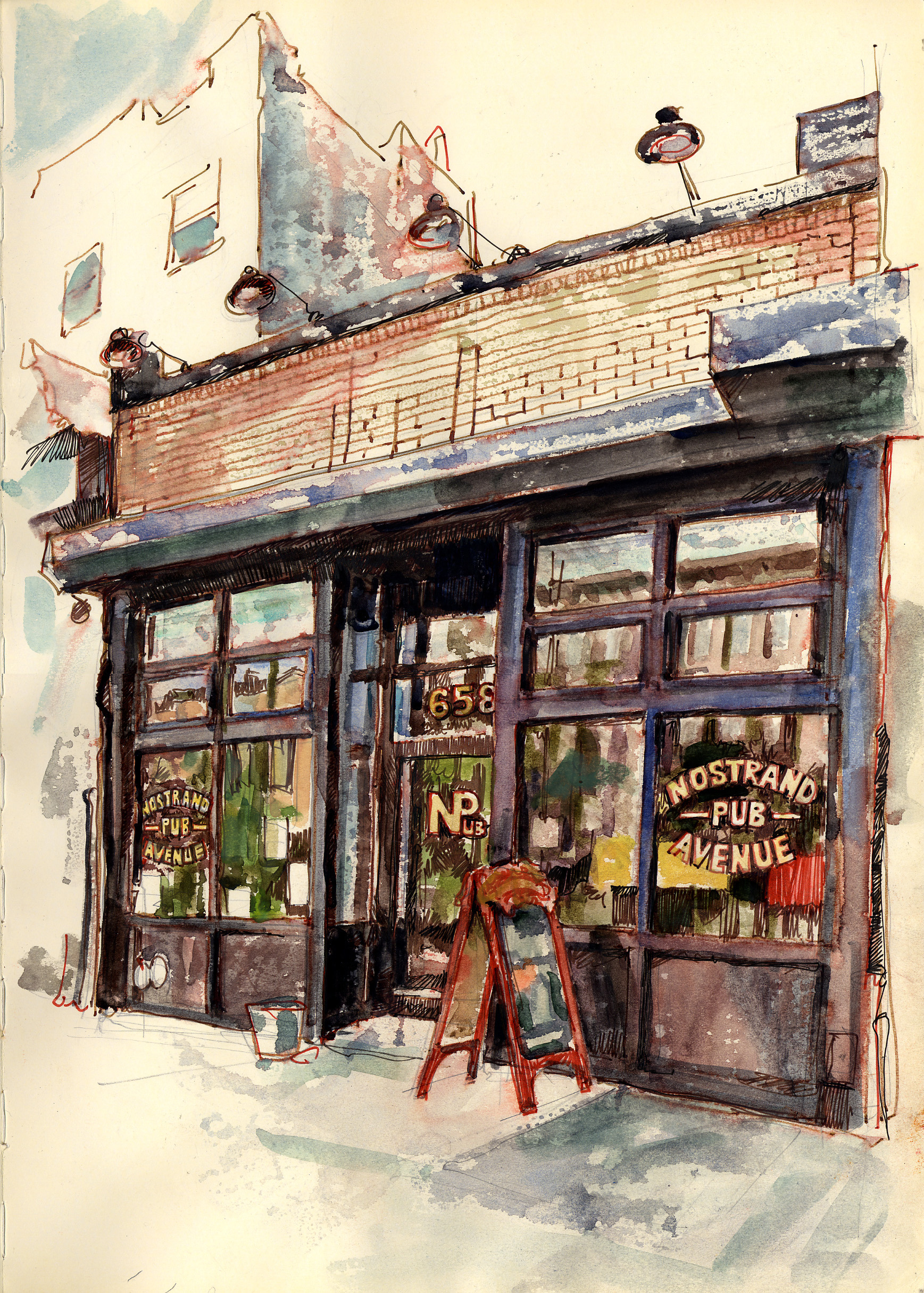 Nostrand Avenue Pub Stephen Gardner